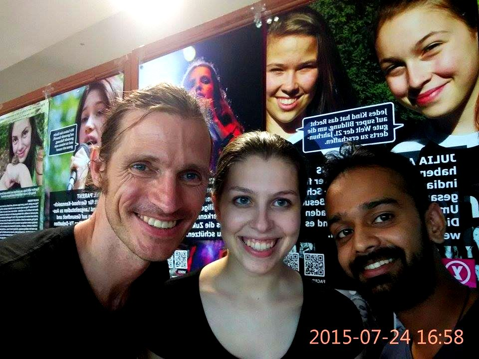 YL POSTER WALL a Smash-Hit at IYONS World Summit and Loyola College!