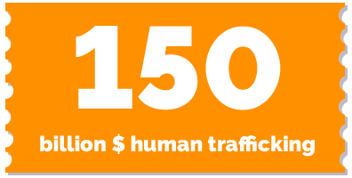 150 billion trafficking industry