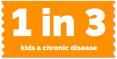 labels-1in3 kids chronic disease