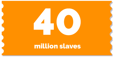 labels-40 mio slaves