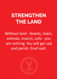 1-STRENGTHEN THE LAND
