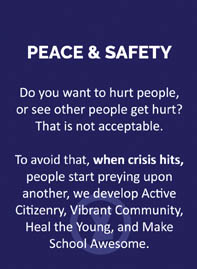 6-PEACE AND SAFETY
